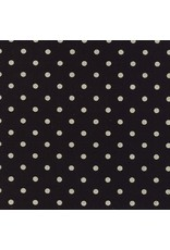 Moda Linen Mochi Dot in Black, Fabric Half-Yards 32910 21L