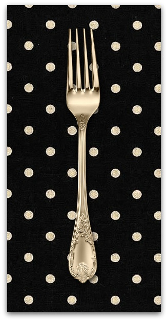 PD's Linen Blend Collection Linen Mochi Dot in Black, Dinner Napkin