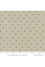 Moda Mochi Homegrown Putty Dot on Natural Linen, Fabric Half-Yards 32910 63L