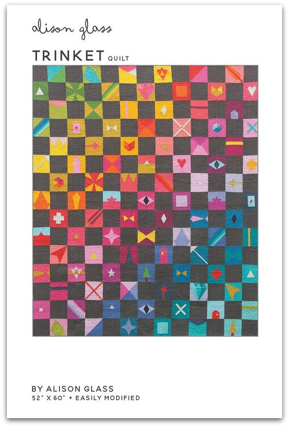 Alison Glass Alison Glass's Trinket Quilt Pattern