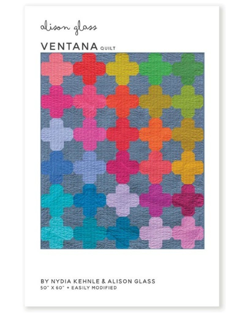 Alison Glass Alison Glass's Ventana Quilt Pattern