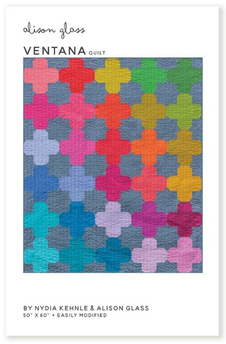 Alison Glass Alison Glass's Ventana Quilt Pattern