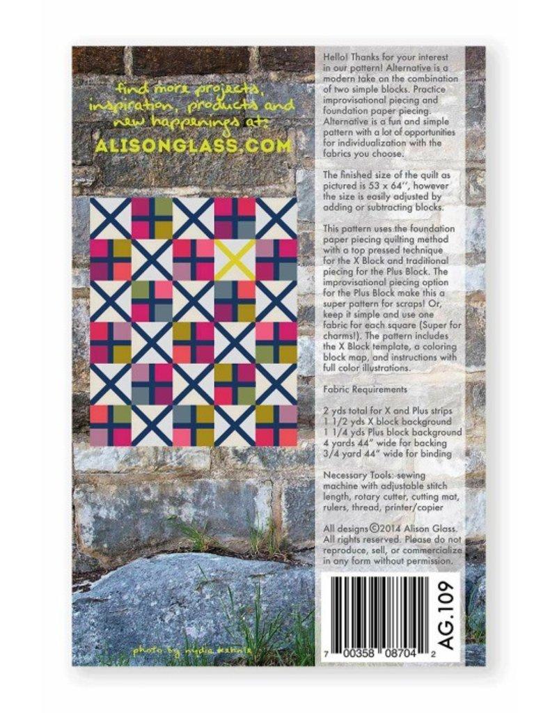 Alison Glass Alison Glass's Alternative Quilt Pattern