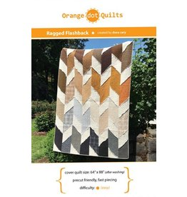 Orange Dot Quilts Orange Dot Quilt's Ragged Flashback Pattern