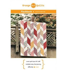 Orange Dot Quilts Orange Dot Quilt's Flashback Pattern