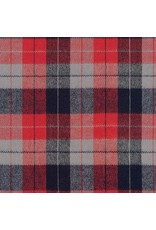 Robert Kaufman Yarn Dyed Cotton Flannel, Durango Flannel in Americana, Fabric Half-Yards SRKF-17141-202