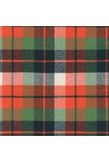 Robert Kaufman Yarn Dyed Cotton Flannel, Mammoth Flannel in Adventure, Fabric Half-Yards SRKF-14891-267