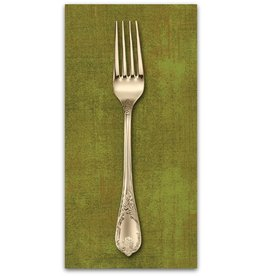 PD's Moda Collection Grunge in Cactus, Dinner Napkin