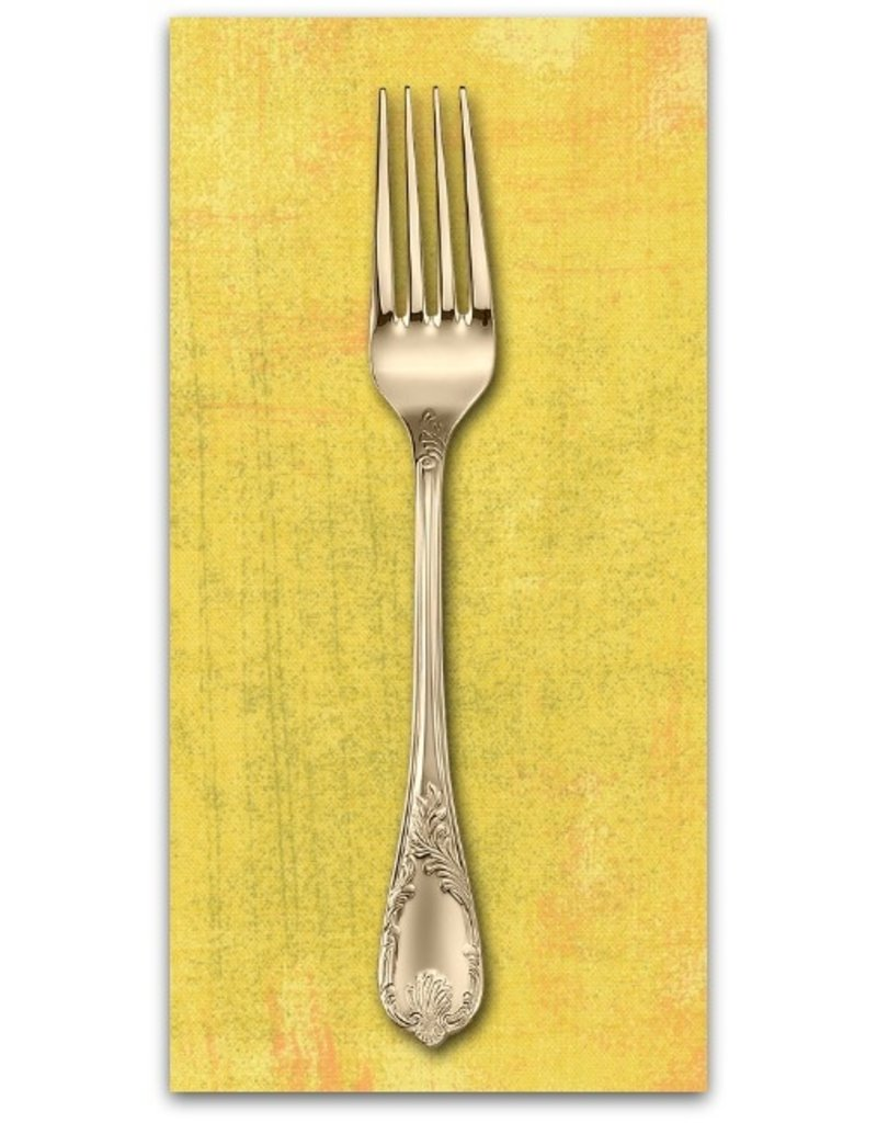 PD's Moda Collection Grunge in Curry, Dinner Napkin