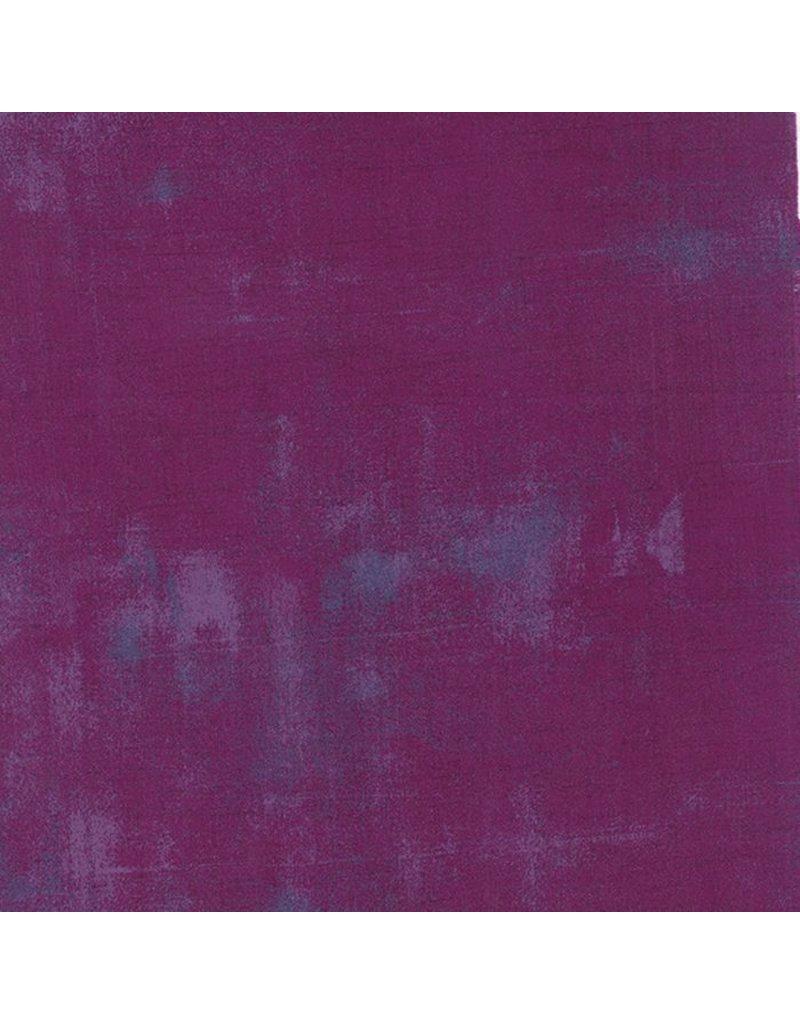 "Moda Grunge in Plum, Fabric Half-Yards 30150 243 (ONE 25"" CUT REMAINING)"