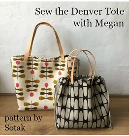 Megan Selby, Instructor 03/09/19:  CLASS FULL!  Make the Denver Tote Bag with Megan
