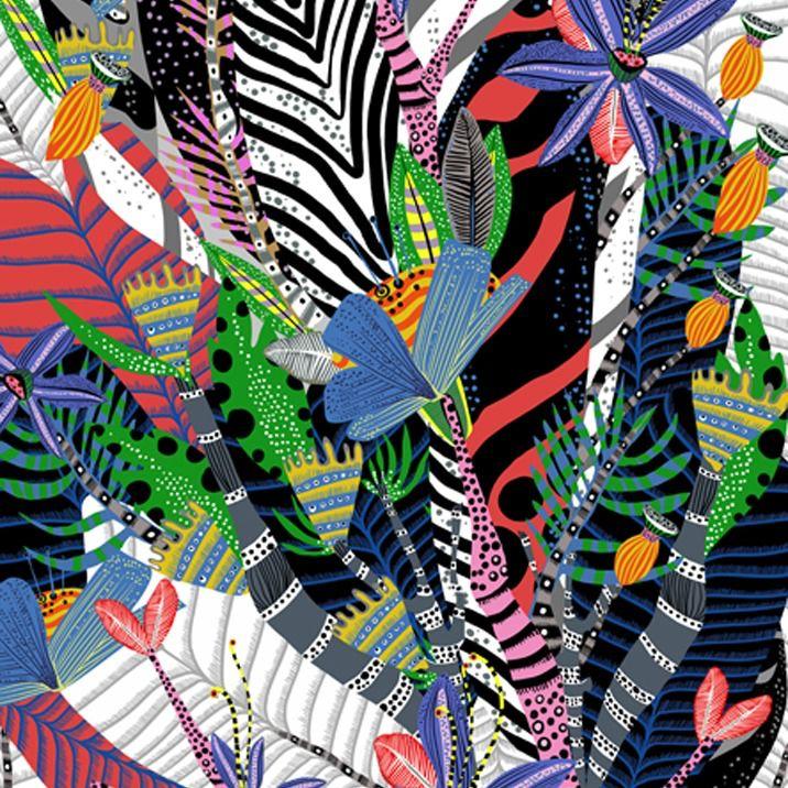 Alexander Henry Fabrics Nicole's Prints, Nyara in Multi, Fabric Half-Yards 8724A