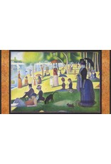 "Robert Kaufman Seurat, Sunday Afternoon on the Island of la Grande Jatte 1886, 24"" Fabric Panel SRKD-18469-269 Park"