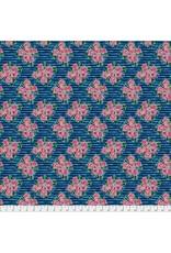 Jennifer Paganelli ON SALE-St. John, Lucia in Blue, Fabric full-Yards PWJP148