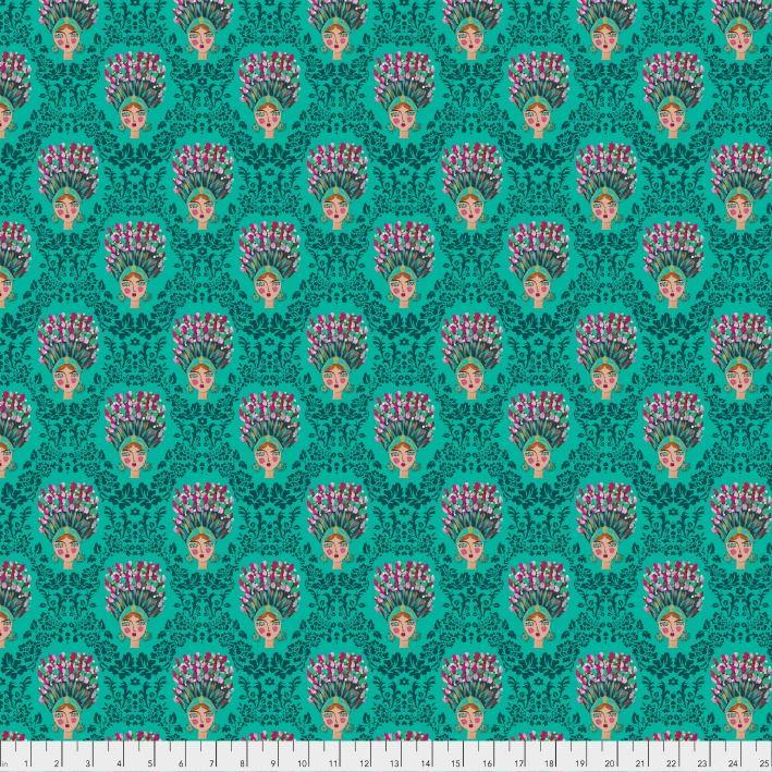 Jennifer Paganelli St. John, Bridgette in Juniper, Fabric Half-Yards PWJP147