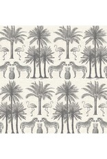 Andover Fabrics Fern Garden, Palm In Grey, Fabric Half-Yards TP-2073-S