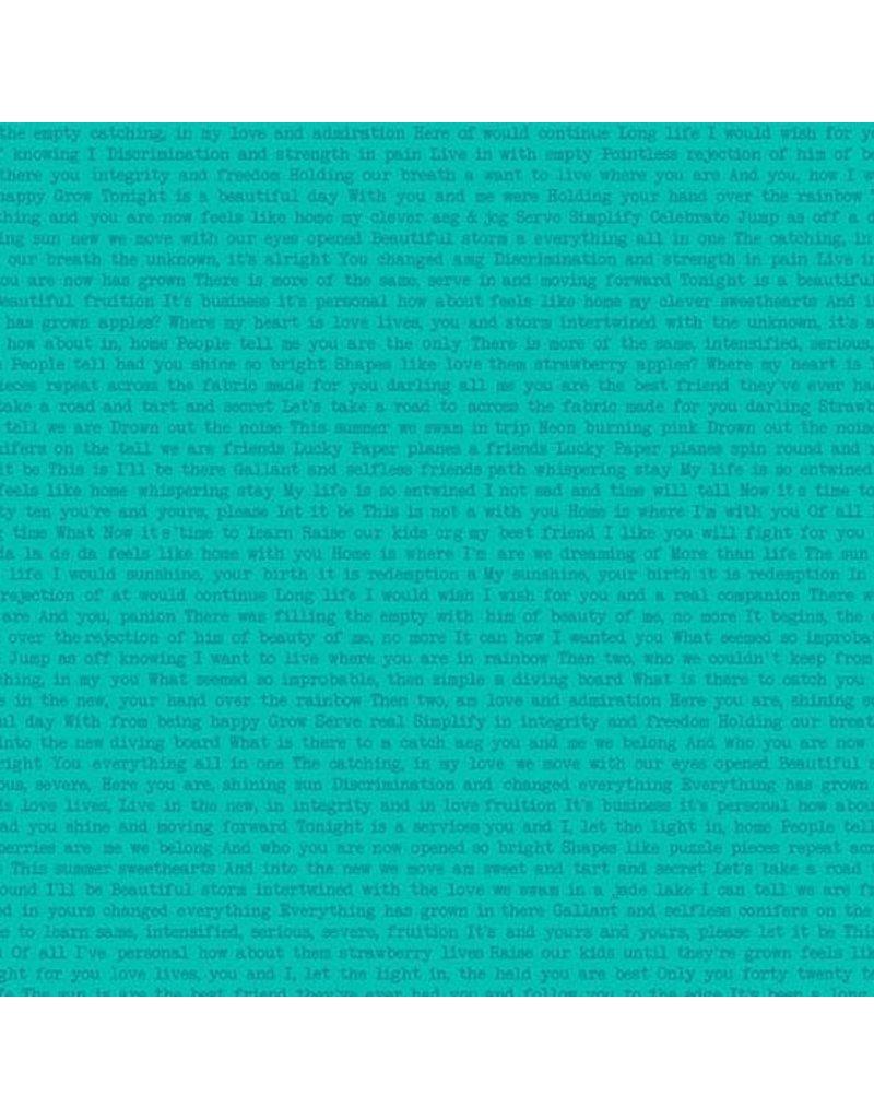 Alison Glass Sun Print, Path in Jade, Fabric Half-Yards A-9035-T