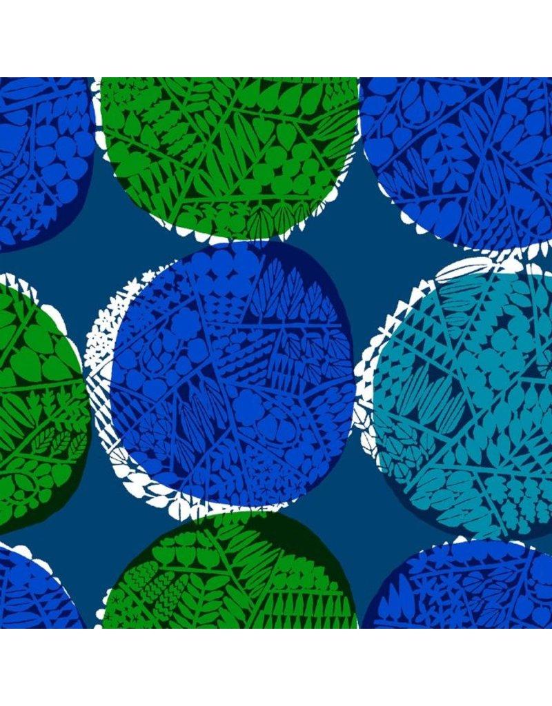 Cotton + Steel Safari, Nest in Blue, Fabric Half-Yards MS102-BL1