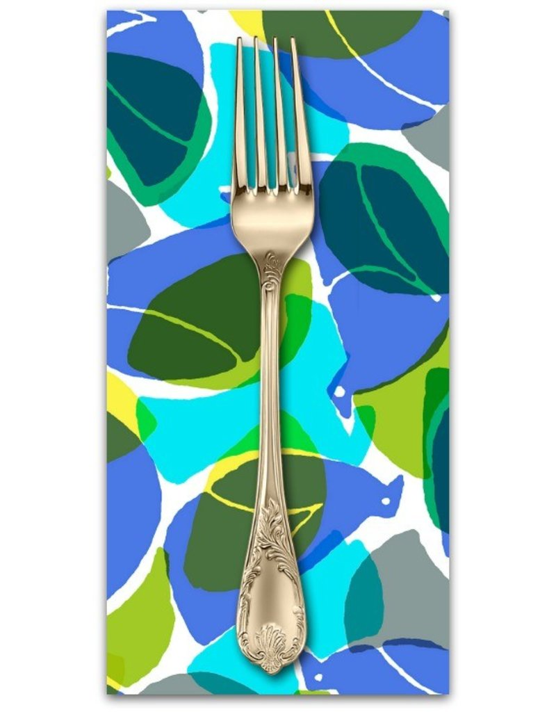 PD's Cotton + Steel Collection Safari, Tweet in Blue, Dinner Napkin