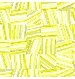 Cotton + Steel Safari, Stacks in Yellow, Fabric Half-Yards MS106-YE2