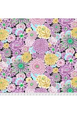 Kaffe Fassett Kaffe Collective 2019, Enchanted in Grey, Fabric Half-Yards PWGP172