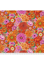 PD's Kaffe Fassett Collection Kaffe Collective 2019, Enchanted in Red, Dinner Napkin