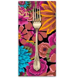 PD's Kaffe Fassett Collection Kaffe Collective 2019, Enchanted in Dark, Dinner Napkin