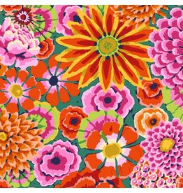 Kaffe Fassett Kaffe Collective 2019, Enchanted in Red, Fabric Half-Yards PWGP172