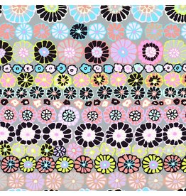 Kaffe Fassett Kaffe Collective 2019, Row Flowers in Contrast, Fabric Half-Yards PWGP169