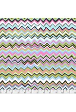 PD's Kaffe Fassett Collection Kaffe Collective 2019, Zig Zag in Contrast, Dinner Napkin