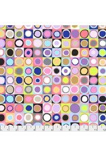 PD's Kaffe Fassett Collection Kaffe Collective 2019, Tiddlywinks in Contrast, Dinner Napkin