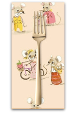 PD's Heather Ross Collection Trixie, Country Mouse in Blush, Dinner Napkin