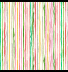 August Wren Daybreak, Multi Stripe in Multi, Fabric Half-Yards STELLA-DAW1169