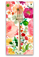 PD's August Wren Collection Daybreak, Flowers in Multi, Dinner Napkin
