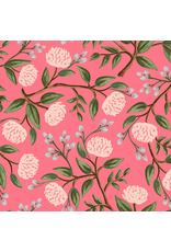 Rifle Paper Co. Wildwood, Peonies in Pink, Fabric Half-Yards RP102-PI1