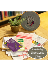 Jen Senor, Instructor 08/03/19: CLASS FULL-Jen's Intro to Hand Embroidery Class