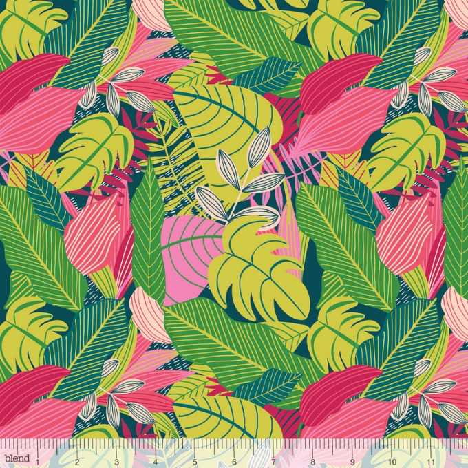 PD's Mia Charro Collection Junglemania, Jungle in Pink, Dinner Napkin