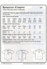 Victoria Jones Collection Victoria Jones Collection, Hawaiian Classics Men's Shirt 210 Sewing Pattern