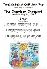 Picking Daisies Available May 1st! Premium Passport for the 2019 Central Coast Quilt Shop Tour