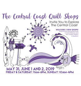 Picking Daisies 2019 Central Coast Quilt Shop Tour - Overview