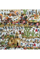 Alexander Henry Fabrics Folklorico, Puebla in Multi, Fabric Half-Yards 8719 AR