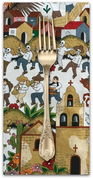 PD's Alexander Henry Collection Folklorico, Puebla in Multi, Dinner Napkin
