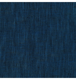 Robert Kaufman Limerick Linen in Indigo, Fabric Half-Yards