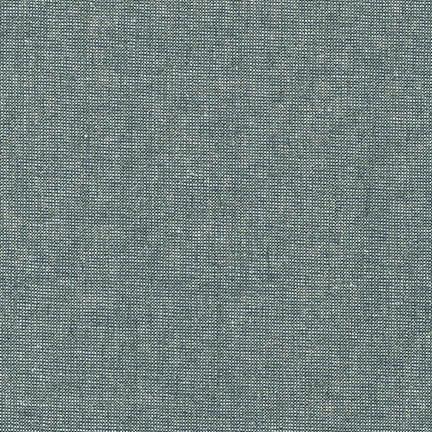 Robert Kaufman Linen, Essex Yarn Dyed Metallic in Storm, Fabric Half-Yards E105-458