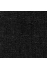 Robert Kaufman Linen, Essex Yarn Dyed Metallic in Onyx, Fabric Half-Yards E105-399