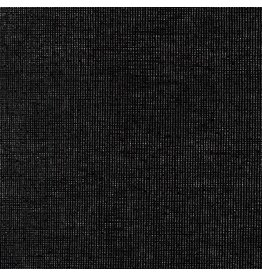 Robert Kaufman Linen, Essex Yarn Dyed Metallic in Onyx, Fabric Half-Yards E105-399
