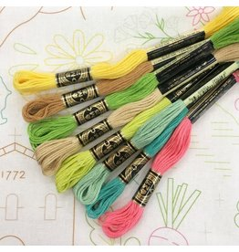 Picking Daisies SLO City Embroidery Floss - Sets of Eight  8.75 yard skeins