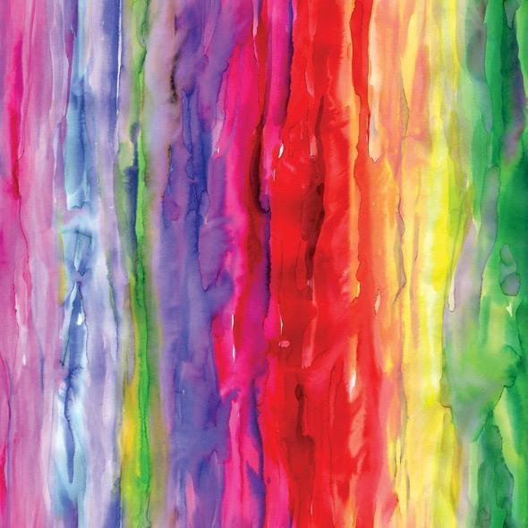 Moda Gradients II, Color Wash in Multi, Fabric Half-Yards 33365 11D