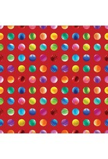 PD's Moda Collection Gradients II, Circles in Sunrise, Dinner Napkin