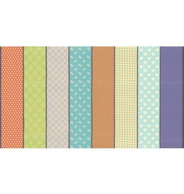 Jen Kingwell Remix Lollies in Surf, Fabric Half-Yards 18152 12